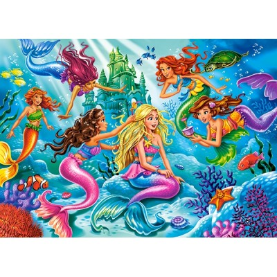 Puzzle  Castorland-27439 Mermaid Meeting