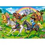 Puzzle  Castorland-27507 Princess Horse Ride