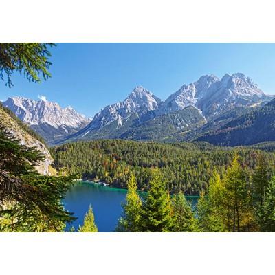 Puzzle  Castorland-300242 Österreich: Bergsee