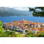 Puzzle  Castorland-300266 Kroatien: Korcula