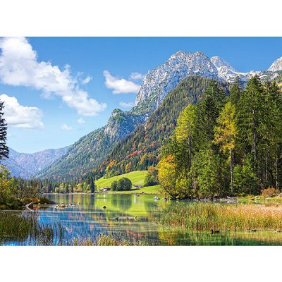 Puzzle  Castorland-300273 Am Fuße der Alpen