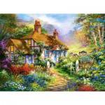 Puzzle  Castorland-300402 Das Waldhaus