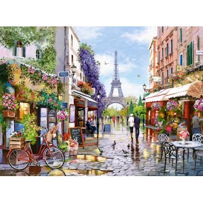 Puzzle  Castorland-300525 Flowering, Paris