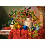 Puzzle  Castorland-300570 Tavola di Capri