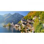 Puzzle  Castorland-400041 Hallstatt, Österreich