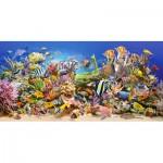 Puzzle  Castorland-400089 Unterwasserleben