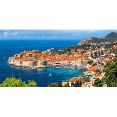 Puzzle Castorland-400225 Dubrovnik, Kroatien