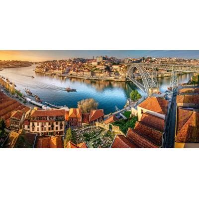 Puzzle Castorland-400232 The Last Sun on Porto