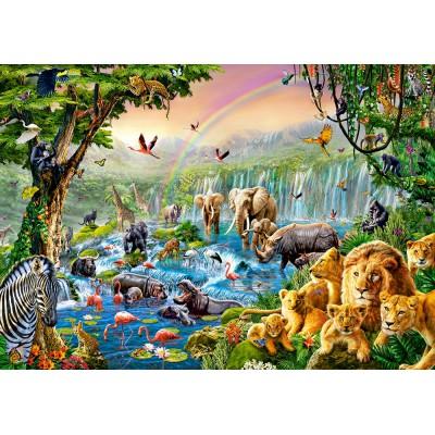 Puzzle  Castorland-52141 Jungle River