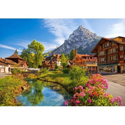 Puzzle  Castorland-52363 Kandersteg, Switzerland