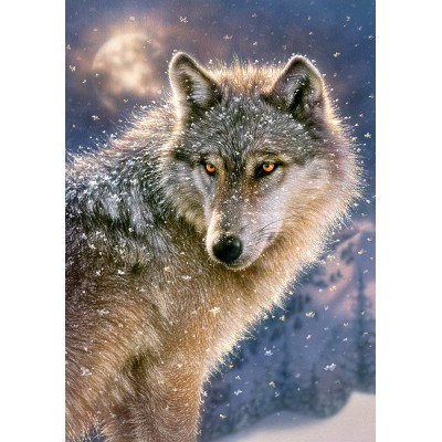 Puzzle Castorland-52431 Lone Wolf