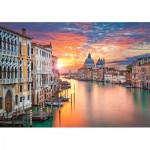 Puzzle  Castorland-52479 Venedig
