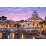 Puzzle  Castorland-52493 Vatikanstadt