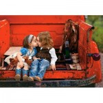 Puzzle  Castorland-52523 First Kiss