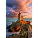 Puzzle  Castorland-52530 The Lighthouse Petit Minou, France