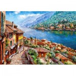 Puzzle  Castorland-52639 Comer See, Italien