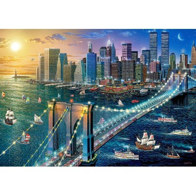 Puzzle  Castorland-52646 New York - Brooklyn Bridge