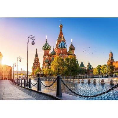 Puzzle  Castorland-52714 Basilius-Kathedrale, Moskau