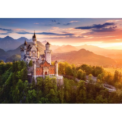 Puzzle  Castorland-52752 Neuschwanstein