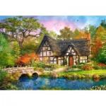 Puzzle  Castorland-52783 Dominic Davison: The Stoney Bridge