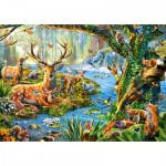 Puzzle  Castorland-52929 Forest Life