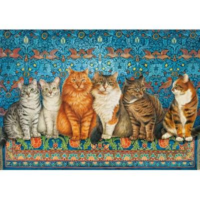 Puzzle Castorland-53469 Cat Aristocracy
