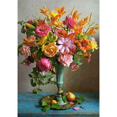 Puzzle Castorland-53537 Autumn Flowers