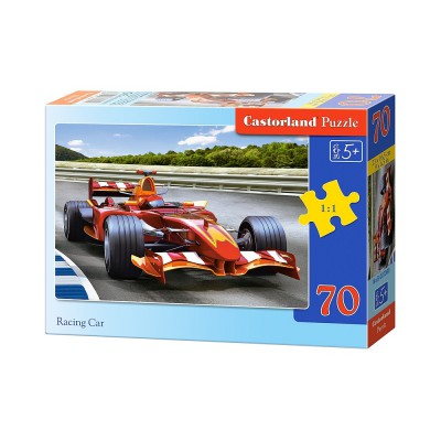 Puzzle  Castorland-B-007080 Rennwagen