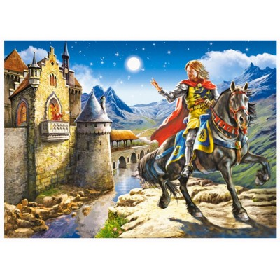 Puzzle  Castorland-B-12992 Knight and Princess