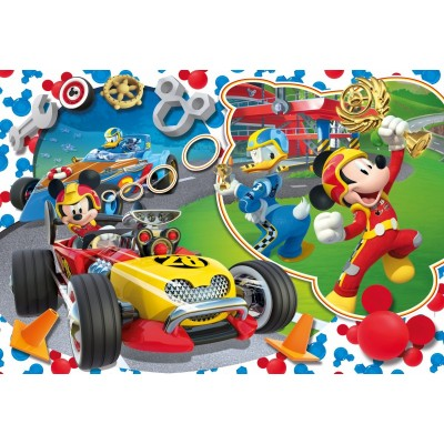 Puzzle  Clementoni-07435 XXL Teile - Mickey Mouse