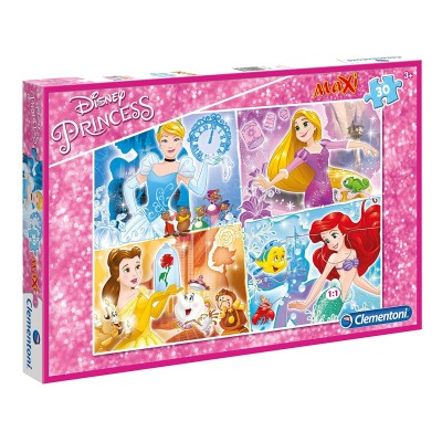 Puzzle  Clementoni-07437 XXL Teile - Disney Princess