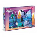 Puzzle  Clementoni-07439 XXL Teile - Vampirina