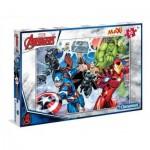 Puzzle  Clementoni-07440 XXL Teile - Avengers