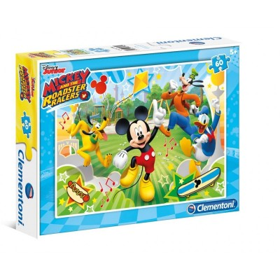 Puzzle  Clementoni-08434 Mickey and the Roadster Racers