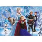 Puzzle  Clementoni-20127 Brilliant Frozen