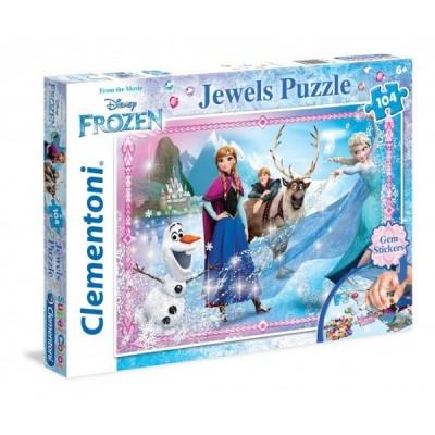 Puzzle  Clementoni-20133 Frozen