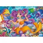 Puzzle  Clementoni-20178 Beautiful Mermaid