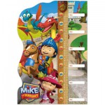 Clementoni-20307 Puzzle Double Fun - Mike der Ritter