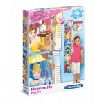 Clementoni-20320 Puzzle Measure Me - Disney Princess