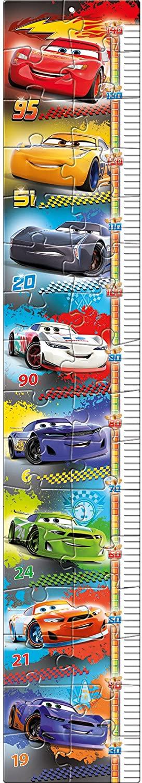 Clementoni-20324 Measure Me Puzzle - Cars