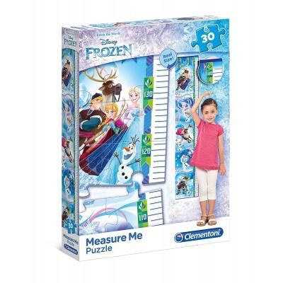 Clementoni-20325 Puzzle Measure Me - Frozen