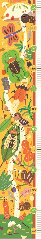 Clementoni-20334 Measure Me Puzzle - The Bugs' House