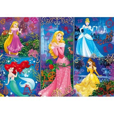 Puzzle  Clementoni-20609 3D Effekt - Disney Princess