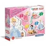 Clementoni-20813 My First Puzzle - Disney Princess (4 Puzzles)