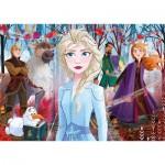 Clementoni-21411 Frozen 2 - 4 Puzzles (20/60/100/180 Teile)