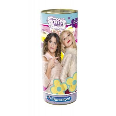 Clementoni-21702 Puzzle Dose - Violetta und Ludmila