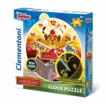 Clementoni-23027 Puzzleuhr - The Lion Guard