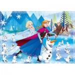 Clementoni-23701 Riesen-Bodenpuzzle - Frozen