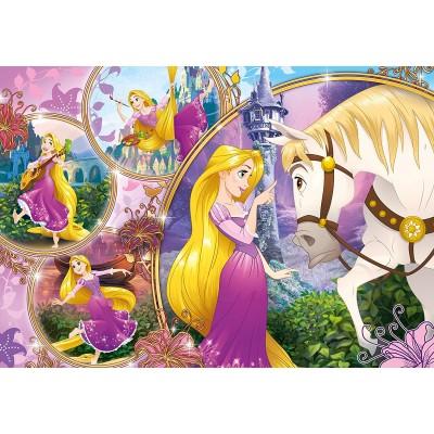 Clementoni-23702 Riesen-Bodenpuzzle - Disney Princess