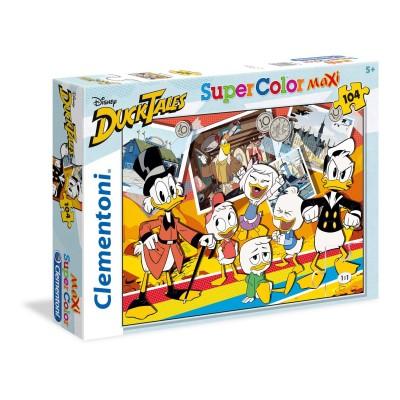 Puzzle  Clementoni-23718 XXL Teile - Disney Duck Tales